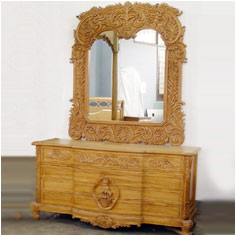 Wooden Dressing Table Mirror Dressing Table Mirror