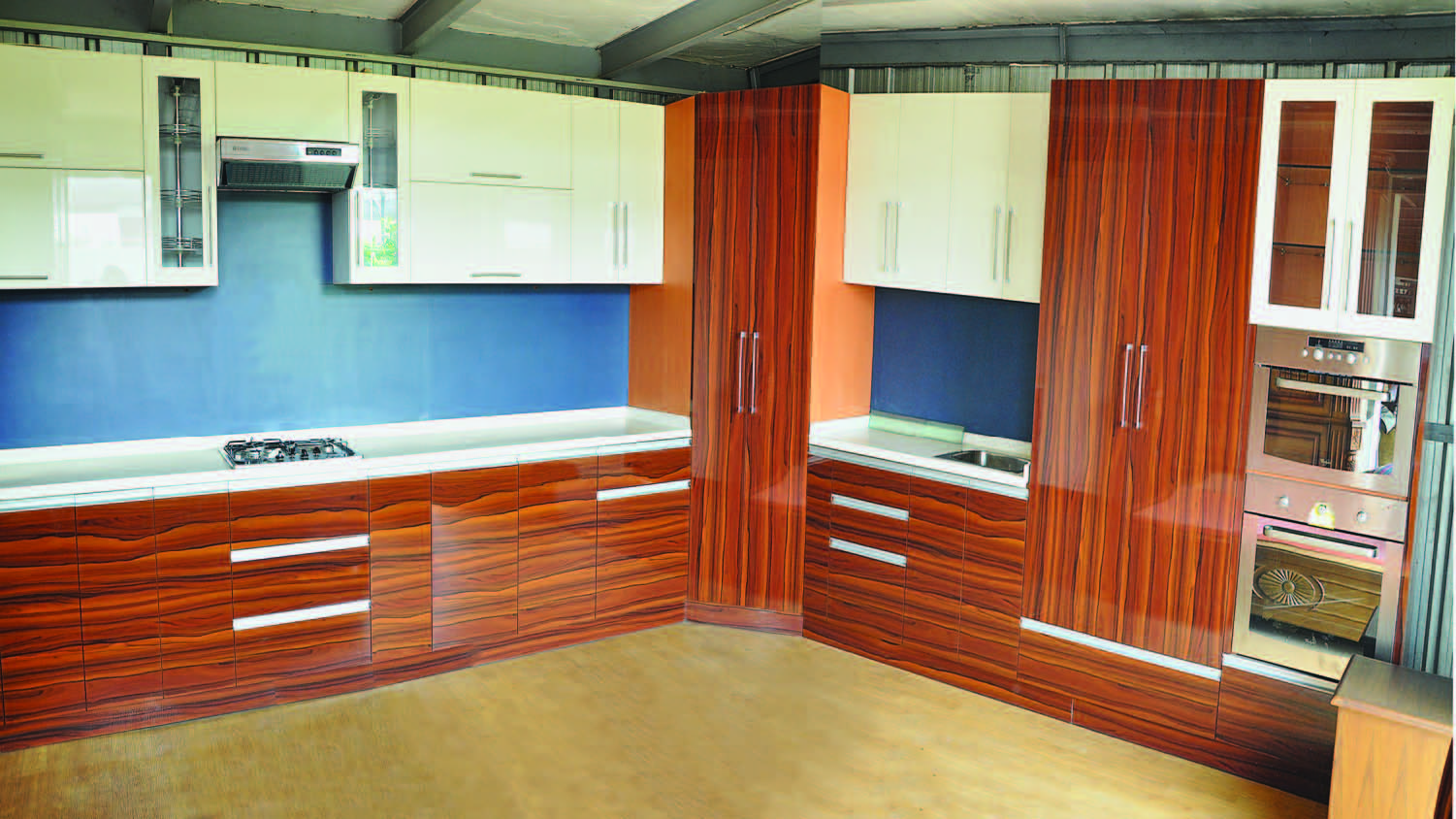 Modern Kitchen Furniture India Get Wood Modular Kitchen