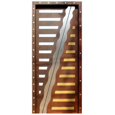 Solid Wooden Door Designer on modern entrance design